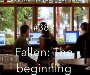 fallen, movie, and The Beginning image