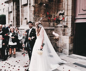 bride, relationship goals, and couple image