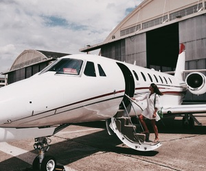 airplane, goals, and chic image