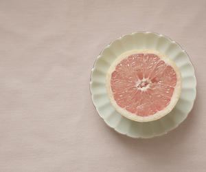 fruit, grapefruit, and pink image