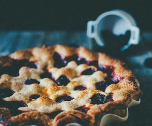 food, pie, and berries image