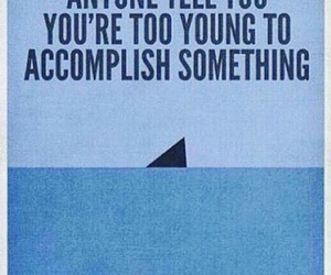 shark, quotes, and young image