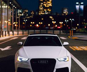 audi, car, and city image