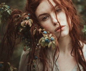 art, fashion, and ginger image