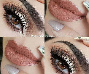 beauty, maquiagem, and eye shadow image