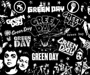 green day, billie joe armstrong, and black image
