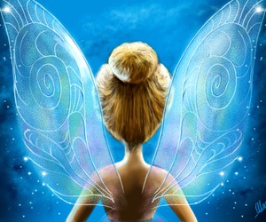 disney, fly, and tinkerbell image
