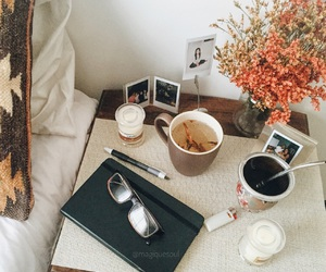 autumn, bohemian, and candles image