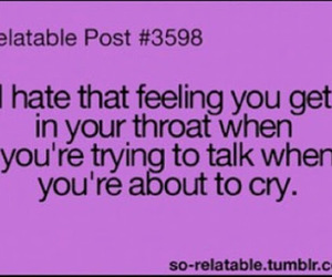 cry, teenage post, and true story image