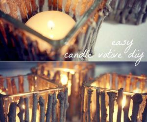 candles, fall, and diy. image