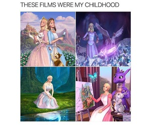 barbie, childhood, and true image