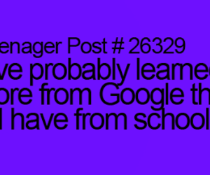 school and teenager post image