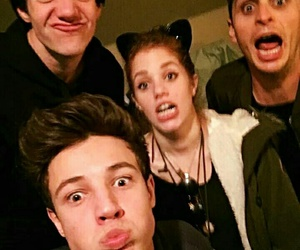 cameron dallas, aaron carpenter, and mahogany lox image