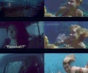 tvd, funny, and rebekah image
