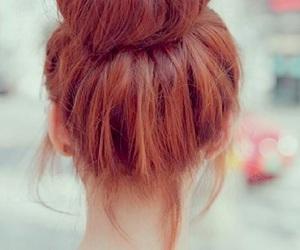 brown, bun, and color image