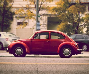car, bug, and red image