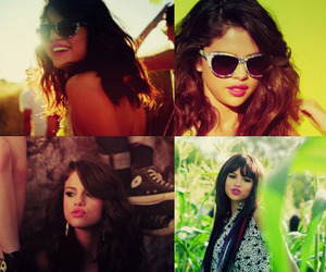 pretty, hit the lights, and selena gomez image