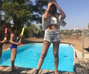 cool, life, and pool image