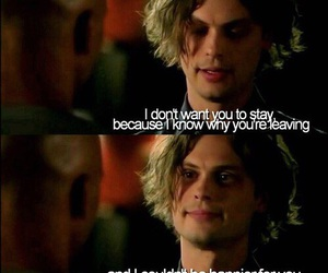 criminal minds, matthew gray gubler, and quote image