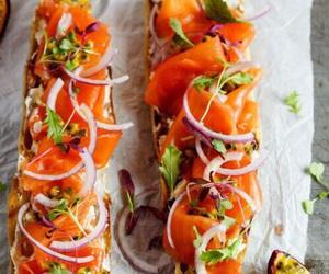 food, salmon, and healthy image