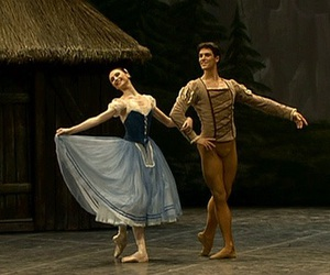 ballet, giselle, and dance image