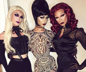 miss fame, pearl, and violet chachki image