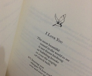 I Love You, poem, and mi amor image