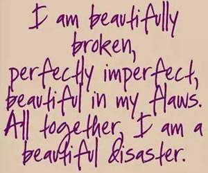 flaws, imperfect, and broken image