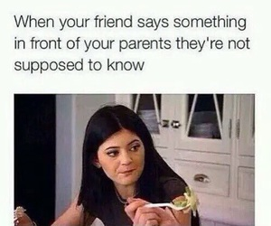 funny, friends, and kylie jenner image