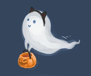 Halloween, cute, and ghost image
