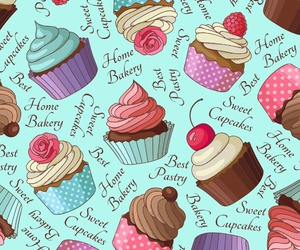 bakery, cupcake, and sweet image