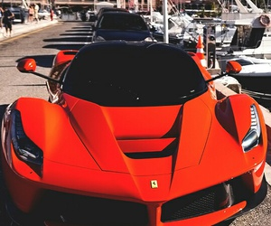 cars, red, and luxury image
