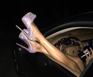 shoes, luxury, and car image