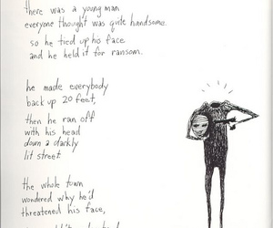 tim burton, johnny depp, and poem image