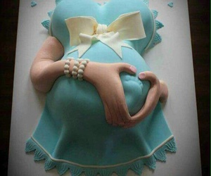 baby, born, and cake image