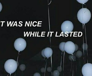 quote, balloons, and nice image