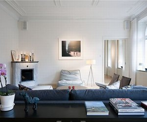 interior, white, and window image