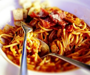 delicious, food, and bolognese image