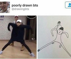 drawing, funny, and lol image