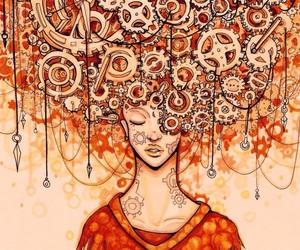 orange and overthinking image