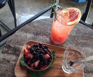 fruit and drink image