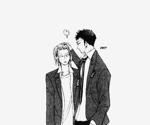 anime, ouran, and takashi morinozuka image