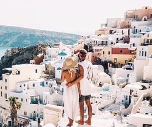 couple, love, and Greece image