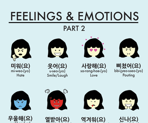 korean, language, and hangul image