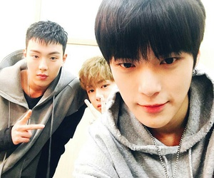 minhyuk, hyunwoo, and shownu image