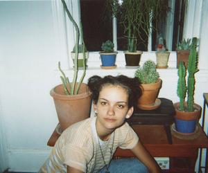 analog, cacti, and dark image