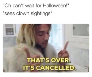 Halloween, clowns, and funny image