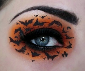 Halloween, makeup, and eye image