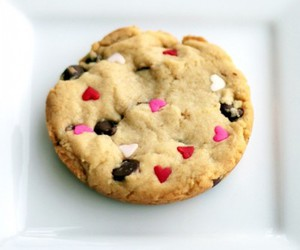cookie, food, and hearts image