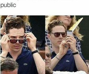 funny, lol, and benedict cumberbatch image